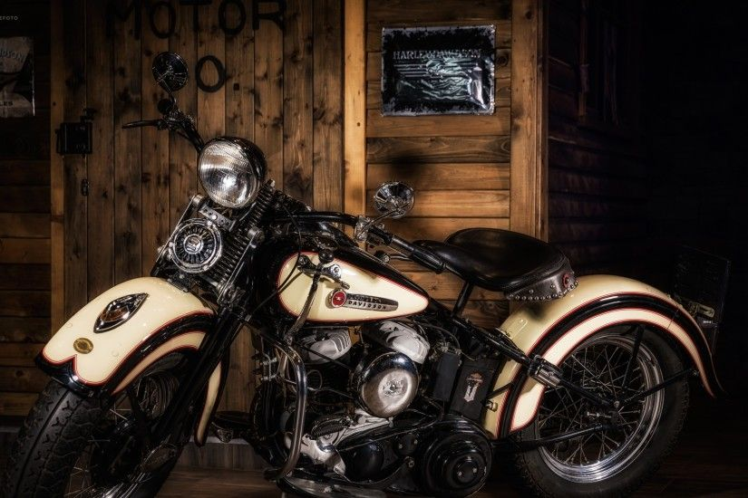 3840x2160 Wallpaper harley davidson, motorcycle, style