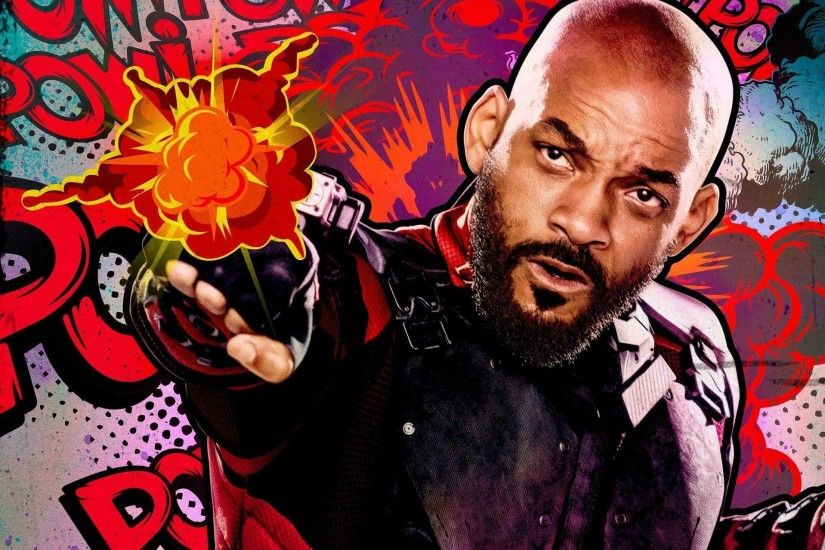 Suicide Squad Deadshot Will Smith Wallpaper - Back Wallpapers