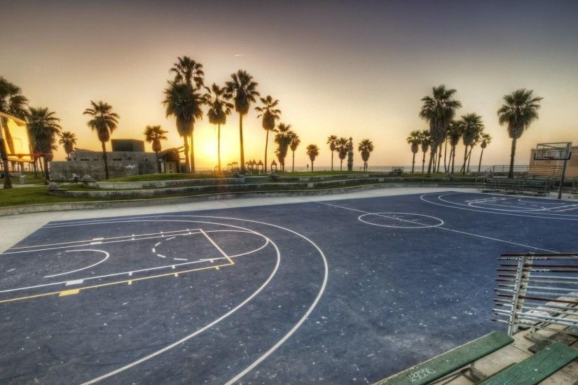basketball, Sport, Sports, Basketball Court, Sunset Wallpapers HD / Desktop  and Mobile Backgrounds
