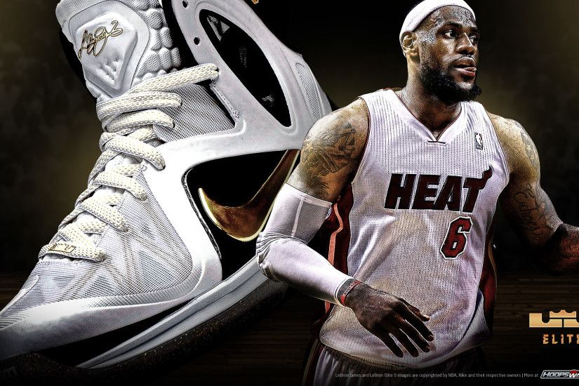 ... White Lebron James Shoes Wallpaper Classic Themes Motive Adjustable  Personalized Hoops