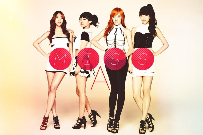 MissA Kpop Wallpaper.
