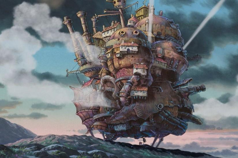 download free howls moving castle wallpaper 1920x1080 mobile