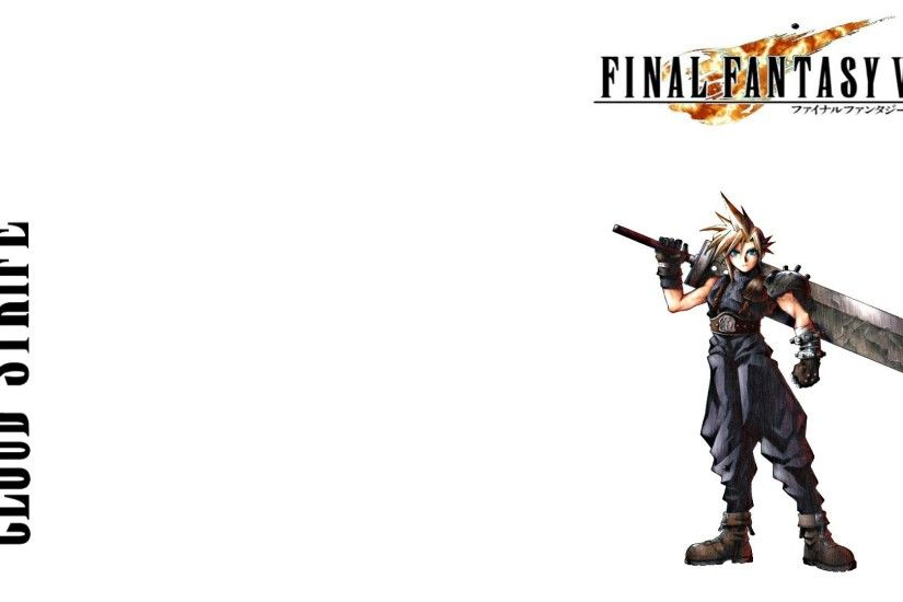 Final Fantasy VII Zack Fair Cloud Strife