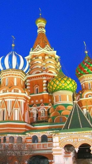 Preview wallpaper moscow, russia, kremlin, red square 1080x1920