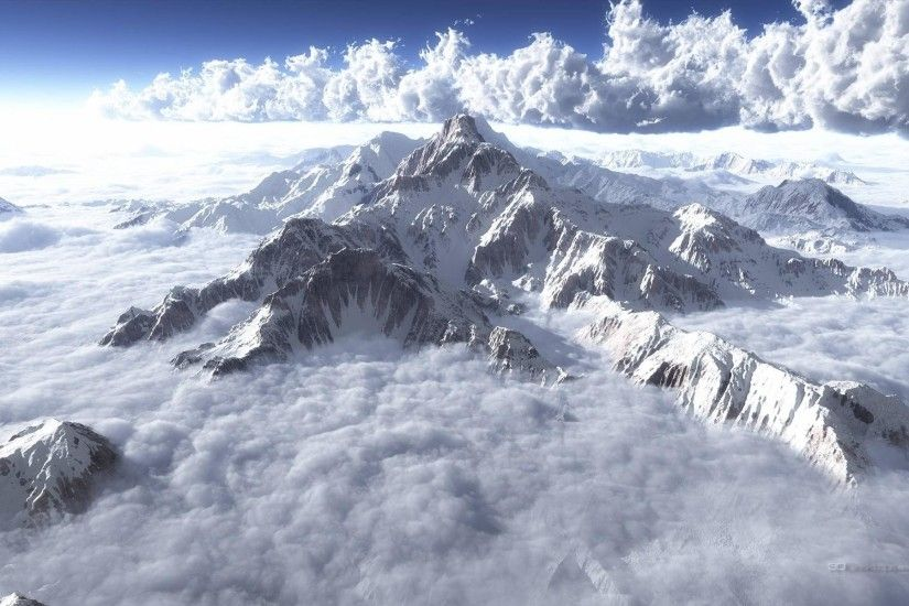 Mount Everest 1920 x 1200 Desktop Wallpapers