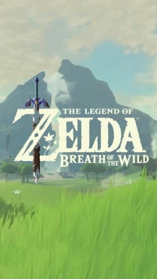 zelda breath of the wild wallpaper 1440x2560 tablet