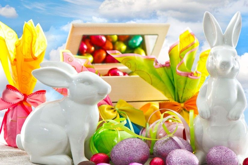 Free Happy Easter Day, computer desktop wallpapers, pictures, images
