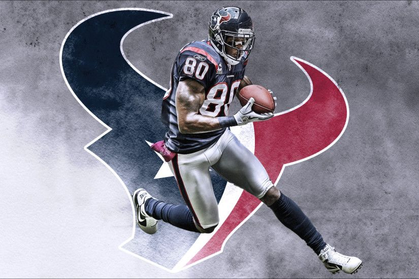 NFL Hoston Texans Logo And Andre Johnson 1920x1200 WIDE NFL