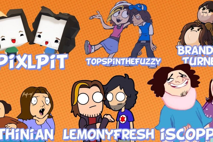Game Grumps Animated Collage by AlexTehKidd
