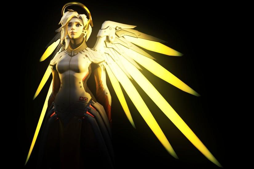 download overwatch mercy wallpaper 1920x1080 hd for mobile