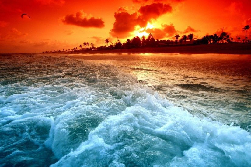 Ocean Sunset Wallpaper | HD Wallpapers Image