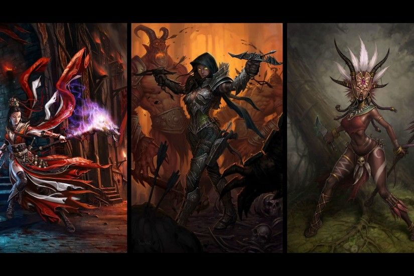 Diablo 3 Wizard Fanart | Gaming Character References | Pinterest ...  Wallpapers ...