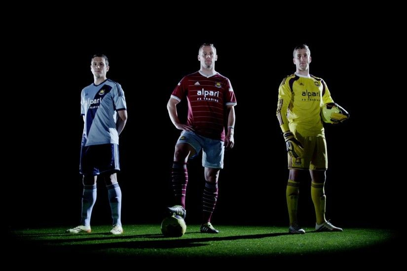 Get in the game: West Ham United & Alpari collaborate for kit unveiling -  YouTube