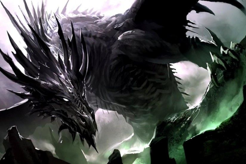 1920x1080 Black-Dragon-Wallpaper