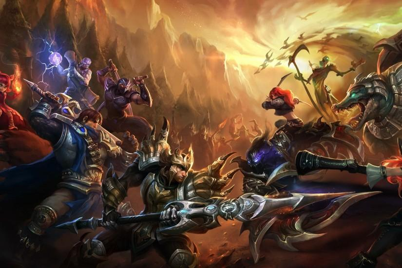 widescreen league of legends wallpaper 1920x1080 x for lockscreen