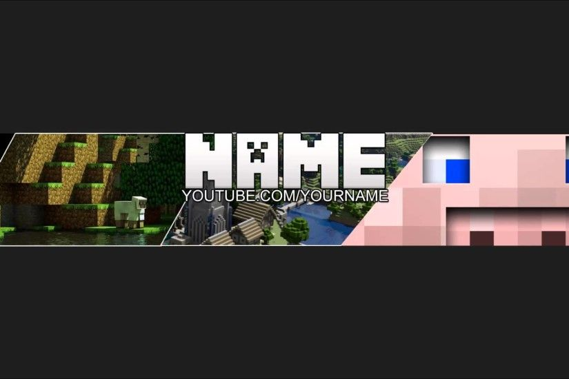 ☆ Free One-Channel Minecraft Background Template | 2013 Layout | by me -  YouTube