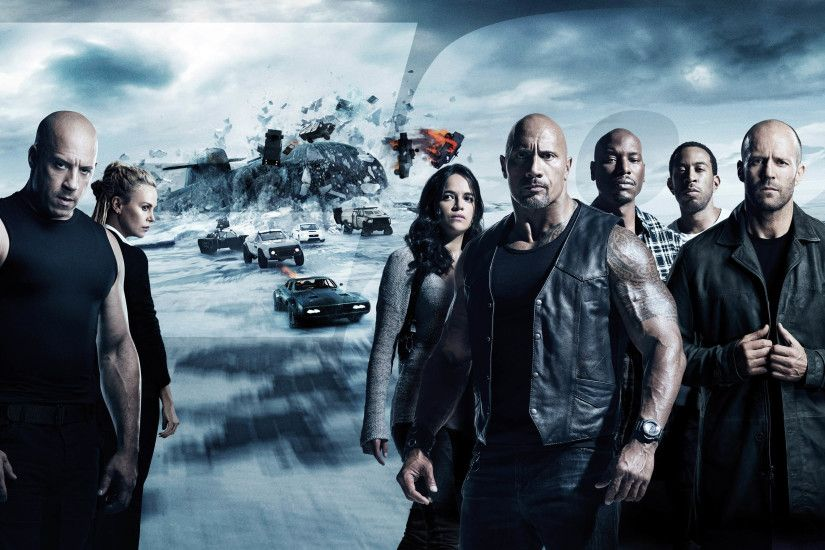 The Fate of the Furious (Fast & Furious 8) 4K 3840x2160 wallpaper