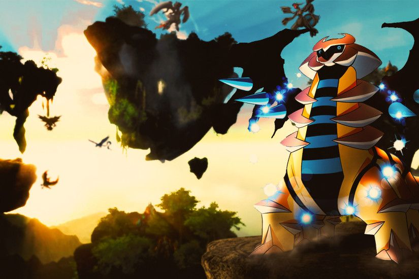 ... Giratina [Altered, Shiny] - Pokemon Wallpaper by ShojiZenshin