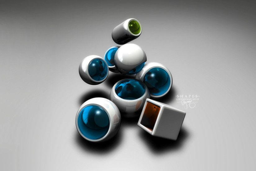3D Abstract Wallpaper | HD Wallpapers Pulse ...