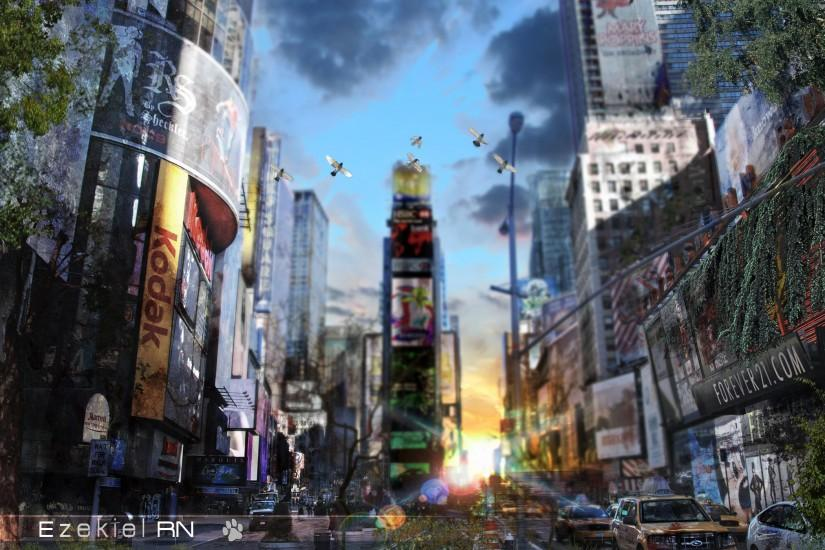 ... New-York-Apocalypse-Wallpaper by Ezekiel-RN