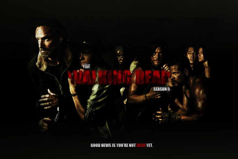 ... The Walking Dead (Season 5) - Wallpaper by kqubekq