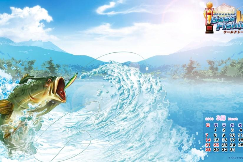 Hooked Again Real Motion Fishing wallpaper - 84846