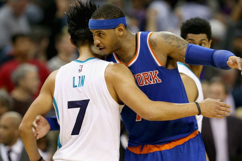 Carmelo Anthony wishes former teammate Jeremy Lin well with Nets | NBA |  Sporting News