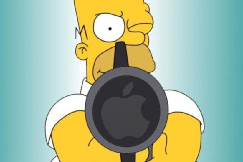 Homer Simpson Cool Hd Mac Apple Wallpapers From Simpsons Mac .