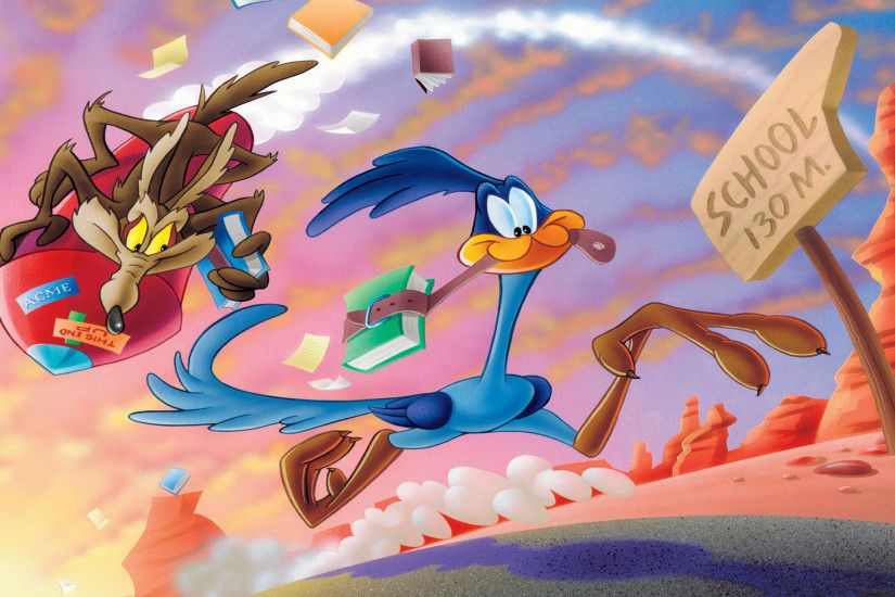 Free Looney Tunes Coyote And The Road Runner, computer desktop wallpapers,  pictures, images