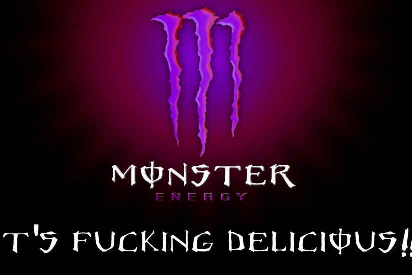 ... monster logo - Download Hd monster logo wallpaper for desktop and ... Monster  Energy Wallpapers ...