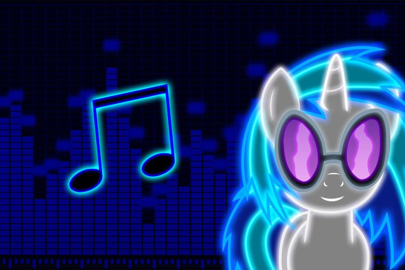 Neon Vinyl Scratch Wallpaper by ZantyARZ Neon Vinyl Scratch Wallpaper by  ZantyARZ