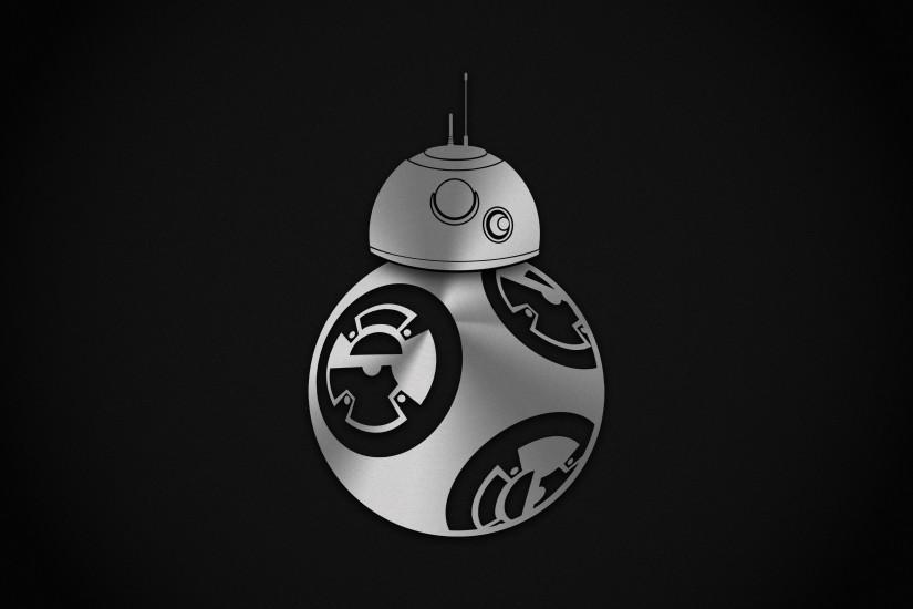 A minimal wallpaper I made of BB-8 :) #starwars #bb8 #wallpaper #minim.
