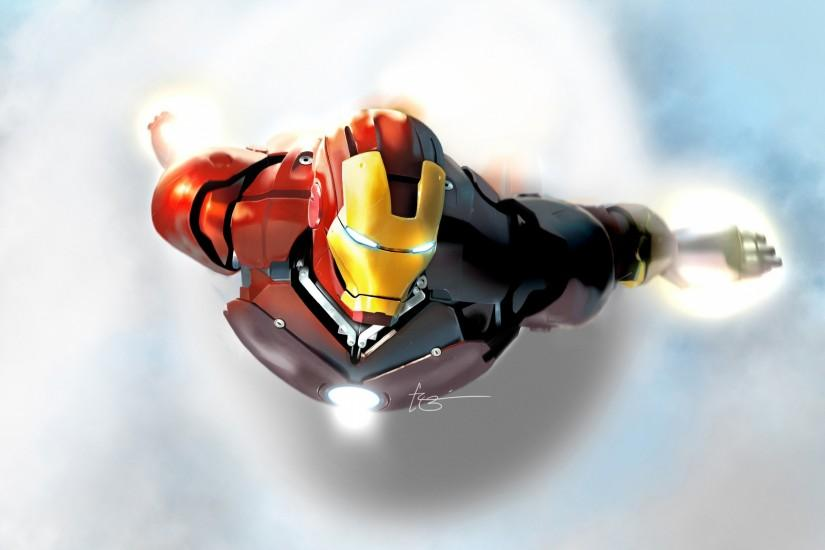 large iron man wallpaper 2560x1920 for mac