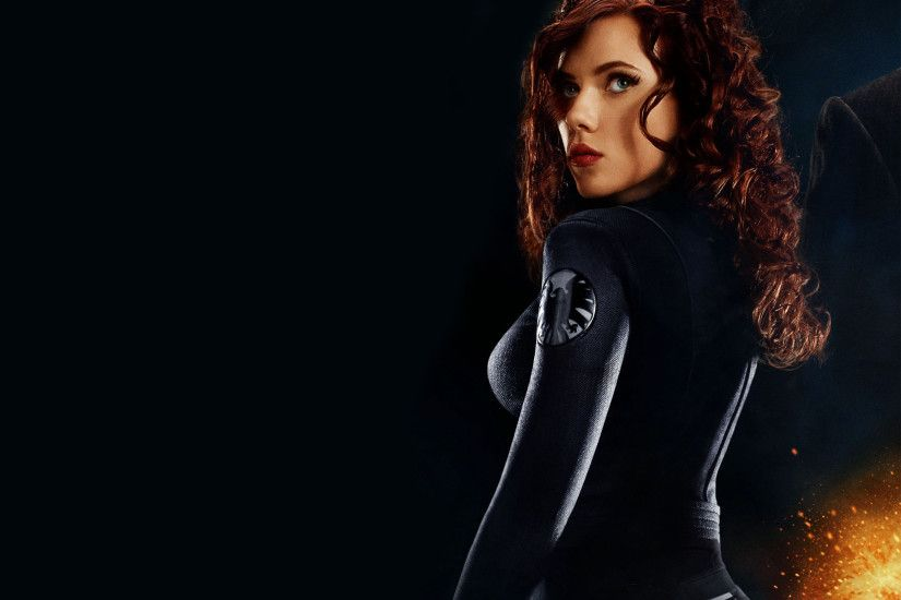 "Scarlett Johansson plays the Black Widow in ""The Avengers,"" which opens May  4"