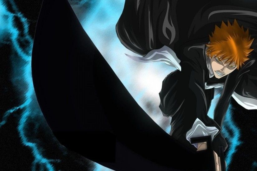 1920x1080 1920x1080 Wallpaper anime, bleach, character, ichigo, bankai