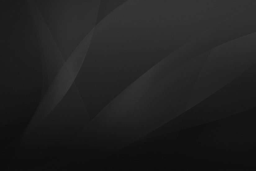 Plain Black 3D 1 Free Hd Wallpaper