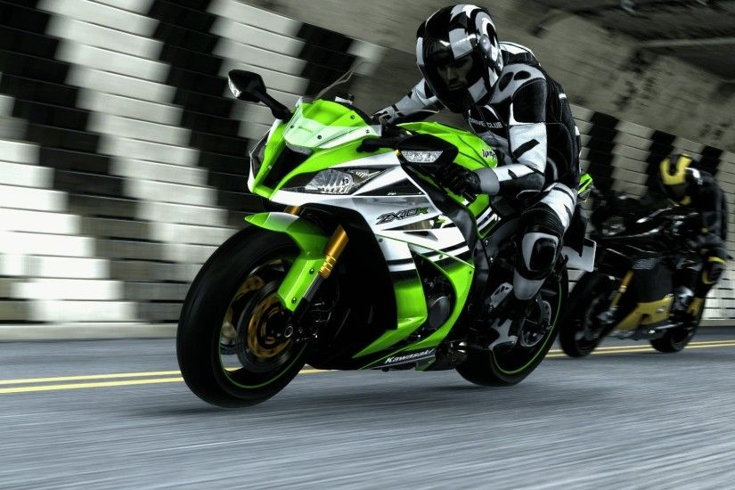 Kawasaki Ninja ZX10r photo HD