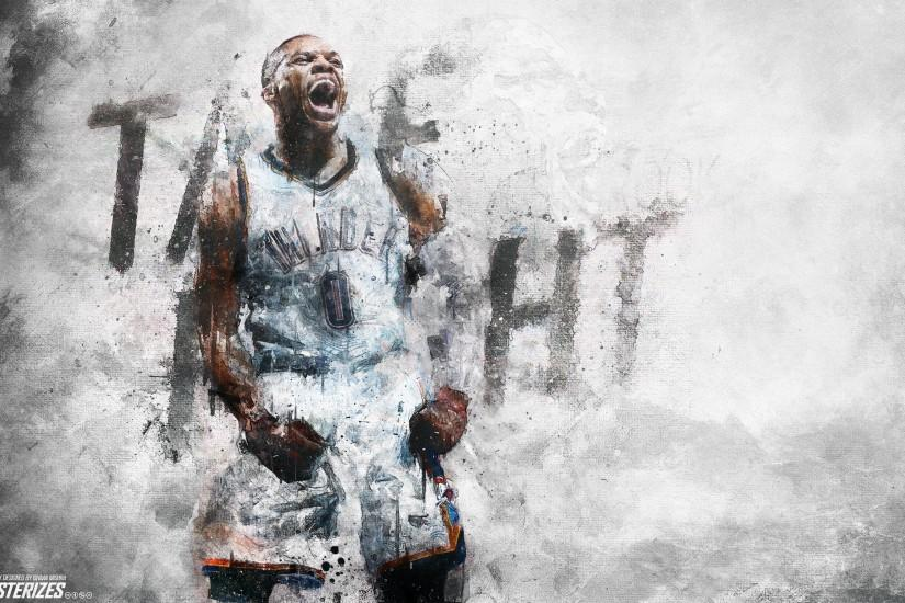 russell westbrook wallpaper 2880x1800 4k