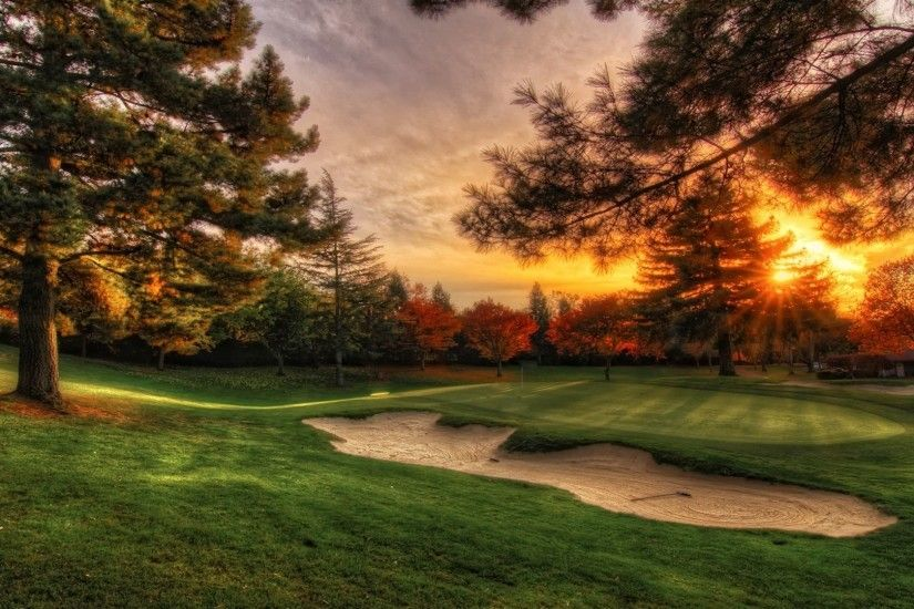 Golf Course HD Wallpaper | Golf Course Pictures | Cool Wallpapers