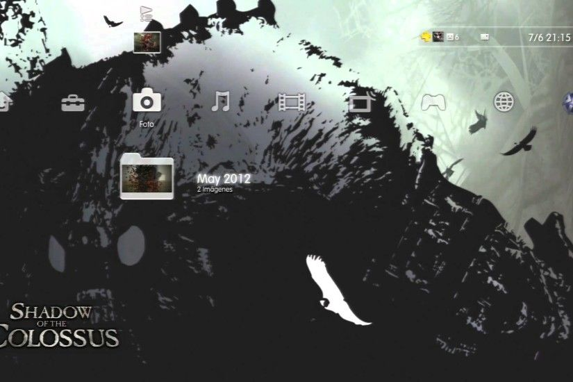 NEW Shadow of the Colossus Dynamic Theme 1080P
