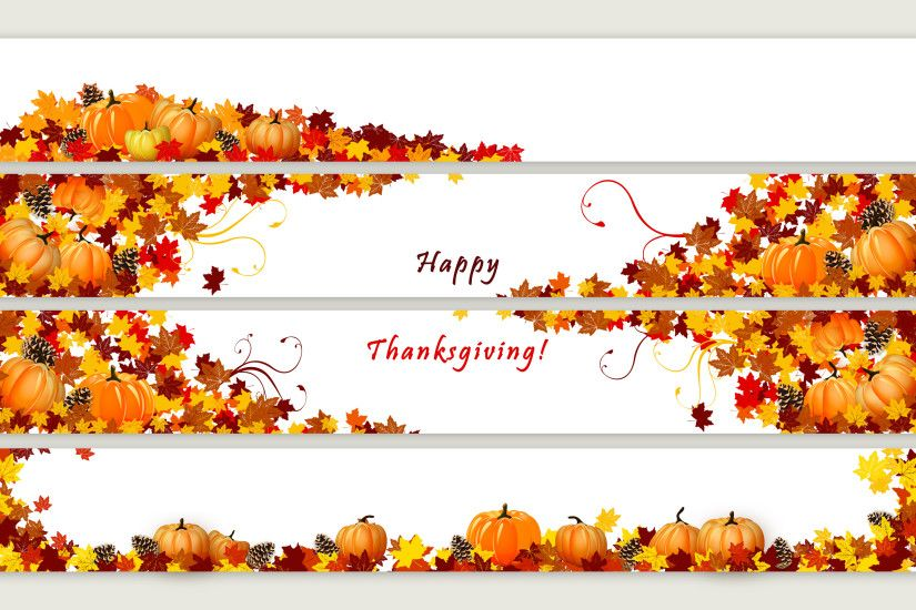 Pumpkins and cones in the autumn leaves wallpaper