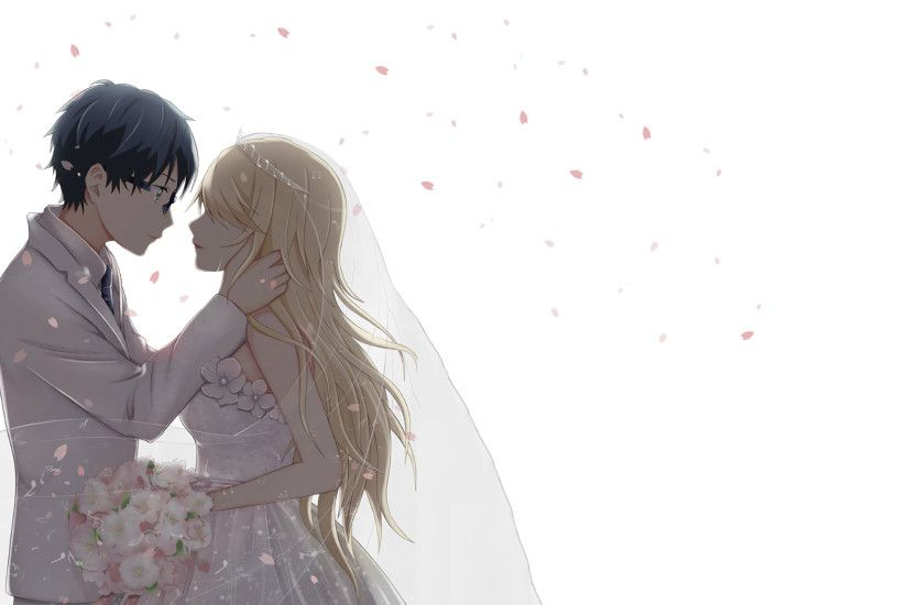 Anime Couple Wallpapers Wallpaper Cave