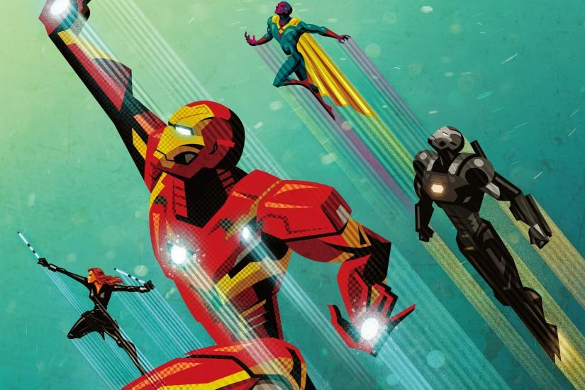 widescreen ironman wallpaper 2880x1800 for lockscreen