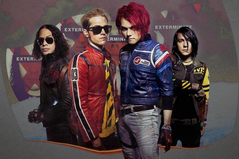 My Chemical Romance Desktop Background.