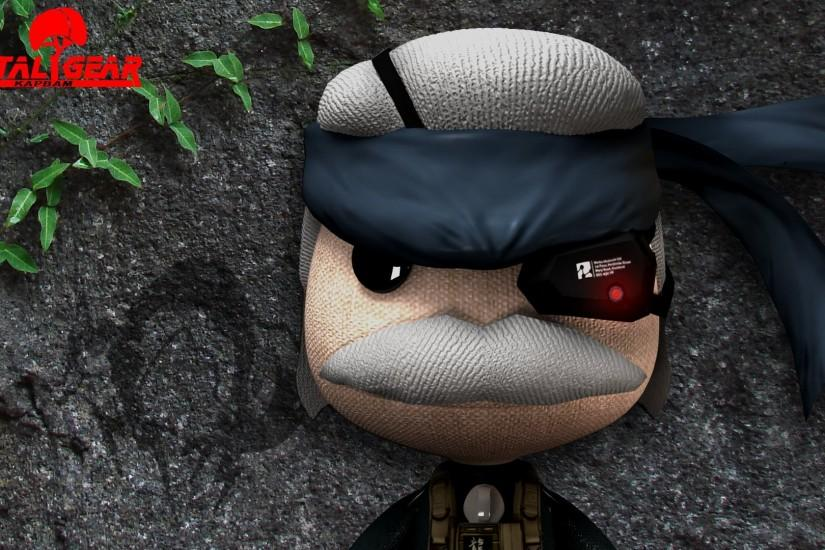Little Big Planet Mgs Wallpaper