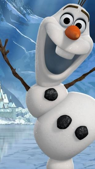 Frozen Olaf iPhone 6 Plus wallpaper
