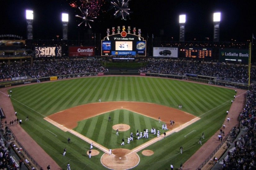 chicago white sox stadium wallpaper