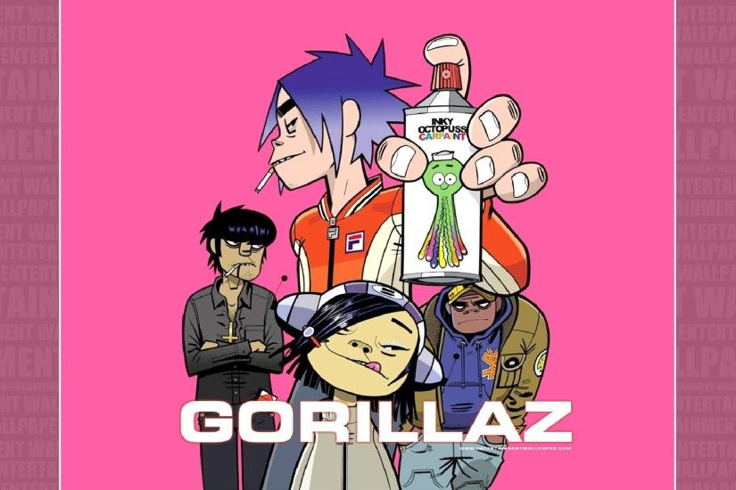 Gorillaz Wallpaper - Original size, download now.
