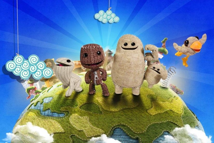 LBP3 PS4 Wallpaper 2 little big planet 3 ps4 wallpapers ...