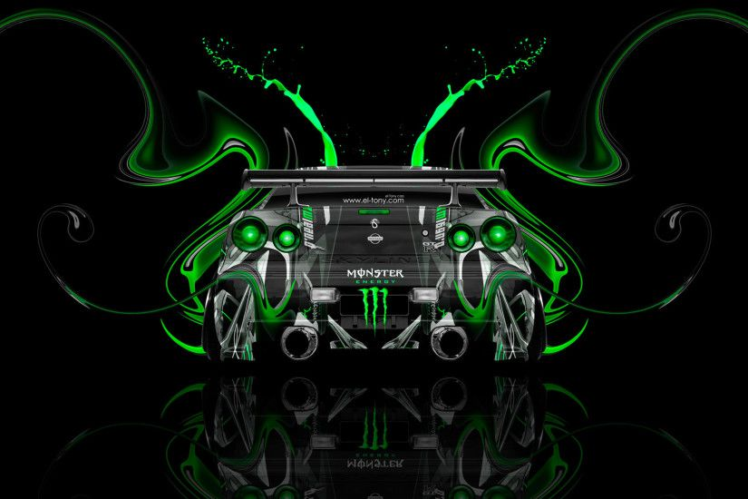 Monster-Energy-Nissan-Skyline-GTR-R34-JDM-Back-